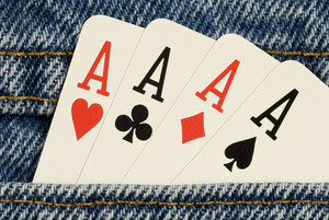 Four Aces in Your Pocket