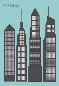 Four Vector Skyscrapers