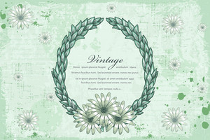 Frame With Grunge Vector Illustration