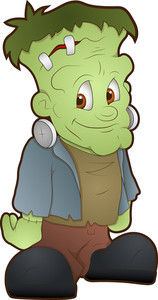 Frankenstein - Cartoon Character