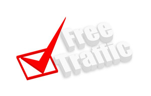 Free Traffic 3d Text