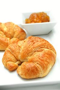 Fresh Baked Croissant Breakfast