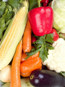 Fresh Vegetables Background