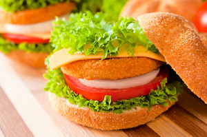 Fried Fish Burger
