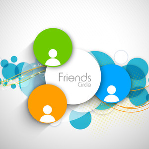 Friendship Day Label