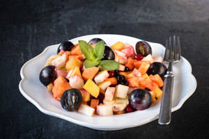 Fruit Salad On The Plate