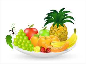 Fruits Vectors Designs