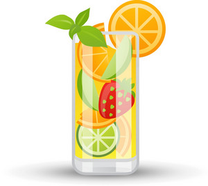 Fruity Mixed Drink Icon