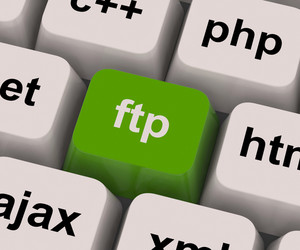 Ftp Key Shows File Transfer Protocol
