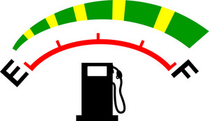 Fuel Gage Meter