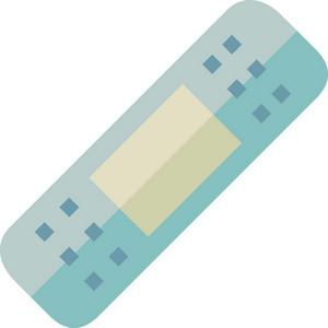 Funky Adhesive Bandage Icon