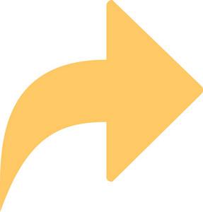 Funky Arrow 10 Icon