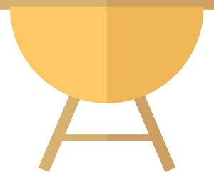 Funky Barbecue Icon