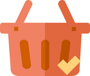 Funky Basket Check Icon