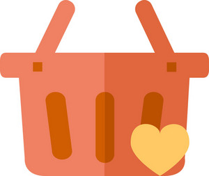 Funky Basket Love Icon
