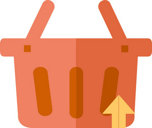 Funky Basket Up Icon