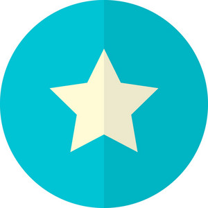 Funky Button Star Icon