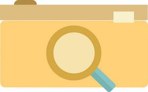 Funky Camera Search Icon