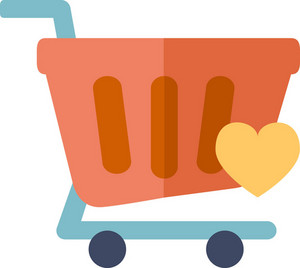 Funky Cart Love Icon