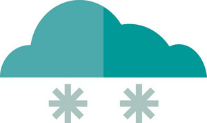 Funky Cloud Snow 2 Icon