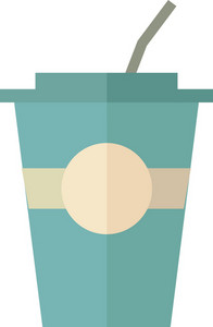 Funky Coffee Icon