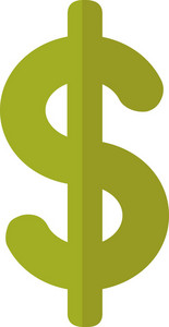 Funky Dollar Icon