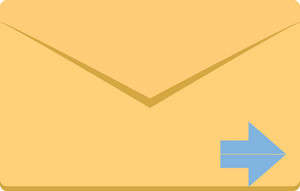 Funky Email Next Icon