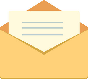 Funky Email Open Icon