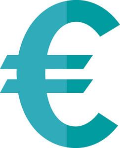 Funky Euro Icon