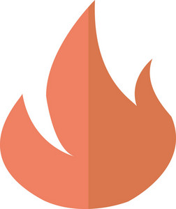 Funky Fire Icon