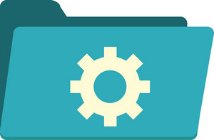 Funky Folder System Icon