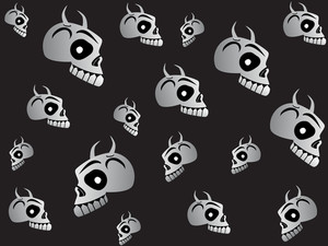 Funky Halloween Vector Sheet61