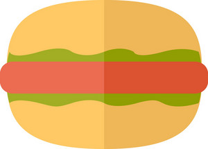 Funky Hamburger Icon