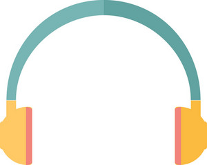 Funky Headphone Icon