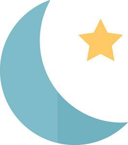 Funky Moon Icon