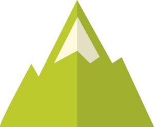 Funky Mountain Icon