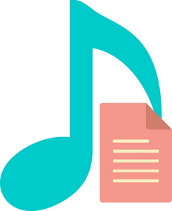Funky Music List Icon