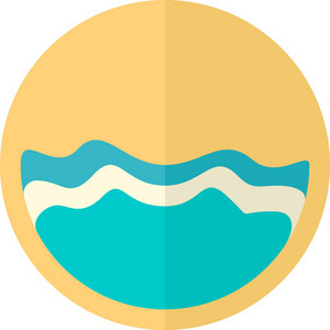 Funky Ocean Icon