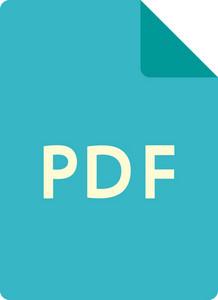 Funky Paper Pdf Icon
