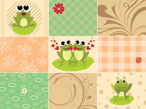 Funky Pattern Illustration