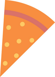 Funky Pizza Icon