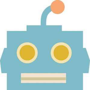 Funky Robot Icon
