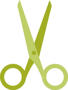 Funky Scissors Icon