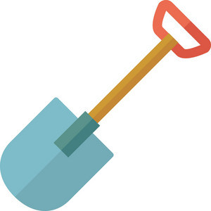 Funky Shovel Icon