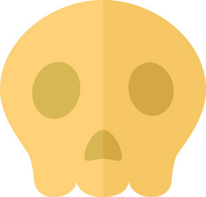 Funky Skull Icon