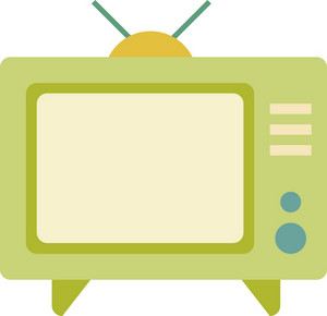 Funky Television Icon