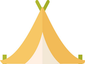 Funky Tent Icon