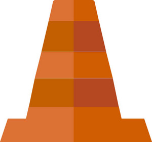Funky Traffic Cone Icon
