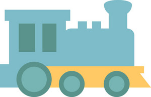 Funky Train Icon