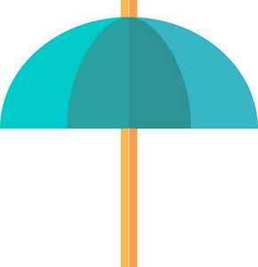 Funky Umbrella Icon